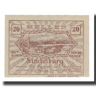 Billet, Autriche, Sindelburg N.Ö. Gemeinde, 20 Heller, Personnage 1, 1920 - Austria
