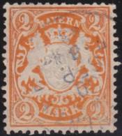 Bayern  .    Michel    .   64 X       .      O     .    Gebraucht - Bavaria