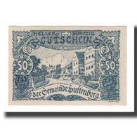Billet, Autriche, Luftenberg O.Ö. Gemeinde, 50 Heller, Texte 4, 1920 - Austria