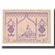 Billet, Autriche, Lorch O.Ö. Gemeinde, 50 Heller, Texte 4, 1920, 1920-12-31 - Austria