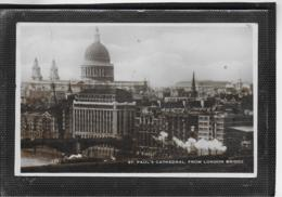 AK 0525  St. Paul' S Cathedral From London Bridge Um 1937 - Iglesias Y Catedrales