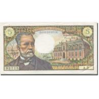 France, 5 Francs, Pasteur, 1966-1970, 1966-05-05, SUP+, Fayette:61.1, KM:146a - 1962-1997 ''Francs''