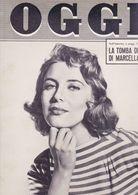 (pagine-pages)MYRIAM BRU   Oggi1955/09. - Libros, Revistas, Cómics
