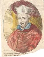 Federicus Borromaeus S.M. Angelorum Holy Card  Santini Image Pieuse Religieuse ( Charle Neel ) - Santini