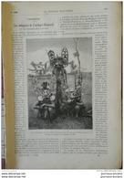 1898 ARCHIPEL BISMARCK LES INDIGENES - LES CARNIVORES - INDUSTRIE DU MARBRE - BATEAU ROULEUR AMERICAIN - 1850 - 1899
