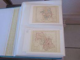 Cartes Des Départements  Origines 1792  Cliché Bibliothèque Nationale - Maps