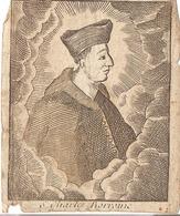 S. Charles Borromée Holy Card  Santini Image Pieuse Religieuse - Santini
