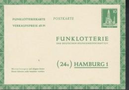 BERLIN P FP 5 B, Ungebraucht, Funklotterie-Postkarte 1957 - [5] Berlin