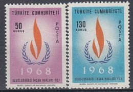 TURKEY 2080-2081,unused - 1921-... Republic