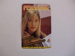 Pensador Woman Portugal Portuguese Pocket Calendar 1999 - Kalender