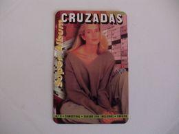 Cruzadas Woman Portugal Portuguese Pocket Calendar 1999 - Kalender