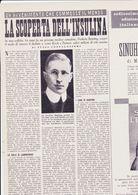 (pagine-pages)FREDERIC BANTING   Oggi1955/09. - Libros, Revistas, Cómics