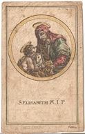 S. Elisabeth M.I.P. Trehling Holy Card  Santini Image Pieuse Religieuse - Santini