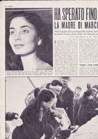 (pagine-pages)la Scomparsa Di MARCELLA MARIANI  Oggi1955/09. - Libros, Revistas, Cómics