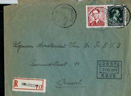 Doc. De KWATRECHT - A A - Du 14/02/55 En Rec. (E) - Postmark Collection