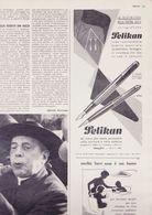 (pagine-pages)PUBBLICITA' PELIKAN  Oggi1955/09. - Libros, Revistas, Cómics