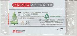 30-Carta Azienda-Giorgio Tesi-Bottegone-Pistoia-Filiale Piadena-Cremona-Nuova In Confezione Originale - Télécartes