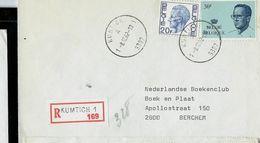 Doc. De KUMTICH - 1 A 1 - (3307) Du 08/12/82 En Rec. (E) - Marcophilie