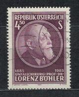 1985   Lorenz Böhler, 100th Birthday -  Yt 1629 - Unificato 1629 - Mi 1800 - 1945-.... 2ème République