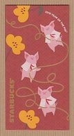CC Chinese New Year 'STARBUCKS PIG - COCHON' 1/4 YEAR 2019' Red Pocket CNY Chinois - Cartas Perfumadas