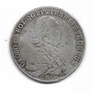 20 Kreuzer De Georg Karl évêque De Wurzbourg 1795 - [ 1] …-1871: Altdeutschland
