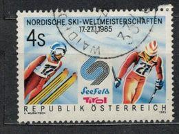 1985   Nordic Ski World Championship, Seefeld/Tyrol -  Yt 1630 - Unificato 1630 - Mi 1801 - 1945-.... 2ème République