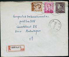 Doc. De  KORTRIJK - A 5 A - Du 05/12/70 En Rec. (E) - Postmark Collection