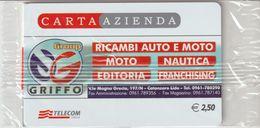 34-Carta Azienda-Group Griffo-Catanzaro Lido-Nuova In Confezione Originale - Télécartes