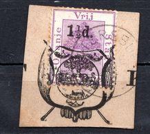 ORANGE - (Etat Libre) - 1883 - Timbre Pour Cartes Postales N° 6 - 1 1/2 D. S. 2 P. Violet - Stato Libero Dell'Orange (1868-1909)