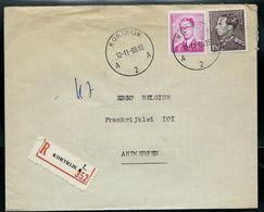 Doc. De  KORTRIJK - A 2 A - Du 12/11/68 En Rec. (E) - Postmark Collection