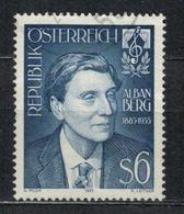 1985   Alban Berg, 100th Birthday -  Yt 1632 - Unificato 1632 - Mi 1803 - 1945-.... 2ème République