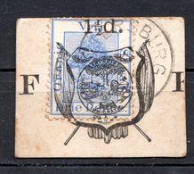 ORANGE - (Etat Libre) - 1883 - Timbre Pour Cartes Postales N° 7 - 1 1/2 D. S. 3 P. Outremer - Stato Libero Dell'Orange (1868-1909)