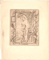 Ets Antwerpsche Sanctjeskring 1935 S. Cassianus Holy Card  Santini Image Pieuse Religieuse Antwerpen Anvers - Santini