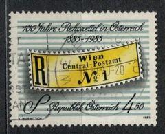 1985   Centenary Of Registration Label (1885-1985) Centenary Of Registration Label -  Yt 1635 - Unificato 1635 - Mi 1806 - 1945-.... 2ème République