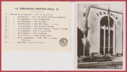Exposition Paris 1937. 12 Véritables Photos (série 2). 12 Vues. Pavillons Et Noms Des Architectes ... - Reproducciones