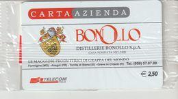 35-Carta Azienda-Bonollo-Formigine(MO)-Anagni(FR)-Torrita Di Siena-Greve In Ghianti-Firenz-Nuova In Confezione Originale - Télécartes