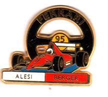 Pin's   F1 Formule 1  Ferrari Alesi Berger Zamac JFG Miami - F1