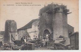 CPA Lourches - La Fosse L'Eclaireur (ce Qu'il En Reste) - Guerre Mondiale 1914-18 (avec Jolie Animation) - Sonstige Gemeinden