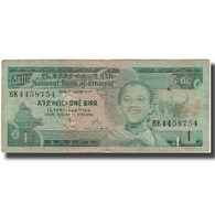 Billet, Éthiopie, 1 Birr, KM:30a, B - Etiopia