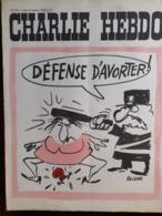 NO PAYPAL Charlie Hebdo Cabu Wolinski Reiser 1972 N° 100 - Humor