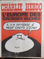NO PAYPAL Charlie Hebdo Cabu Wolinski Reiser 1972 N° 101 - Humor