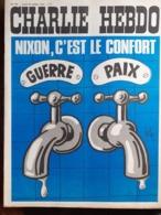 NO PAYPAL Charlie Hebdo Cabu Wolinski Reiser 1972 N° 102 - Humor