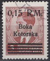 Montenegro - Kotor / Boka Kotorska - WWII - German Occupation - 0.15 RM - Mi 8 - 1944 - Occupation 1938-45