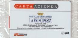 40-Carta Azienda-La Principessa-Nuova In Confezione Originale - Télécartes