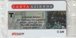 42-Carta Azienda-Di Sogne Bruno-Scalea-Cosenza-Nuova In Confezione Originale - Télécartes