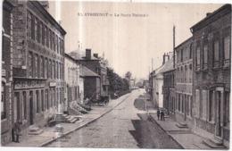 Dépt 59 - ÉTROEUNGT - La Route Nationale - Animée, LE FAMILISTÈRE - France