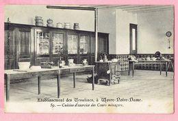 Etablissement Des Ursulines, à Wavre-Notre-Dame - Cuisine D'exercice Des Cours Ménagers - Sint-Katelijne-Waver