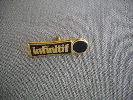 1686 Pin's Pins      IINFINITIF - Marcas Registradas