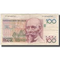 Billet, Belgique, 100 Francs, KM:140a, B - [ 2] 1831-... : Royaume De Belgique