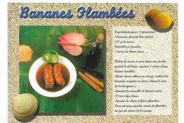 CPM Martinique Recette Des Bananes Flambées Ed La Case à Rhum Voyagée De Martinique En 2004 - Ricette Di Cucina